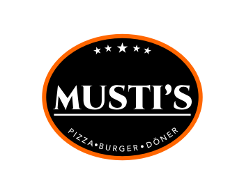 Logo design for Musti's Café & Restaurant