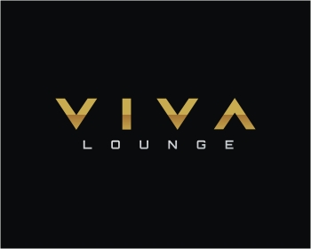 Viva Lounge logo design
