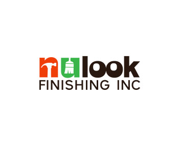 nu look finishing inc logo design