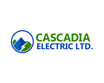 Cascadia Electric Ltd. logo design