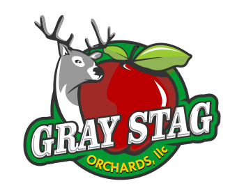 Logo design for Gray Stag Orchards