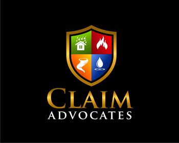The Claim Advocates logo design