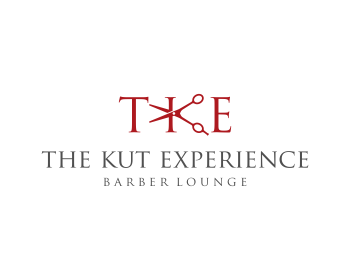 TKE- The Kut Experience logo design