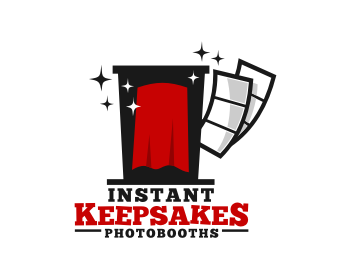 Instant Keepsakes Photo Booths logo design