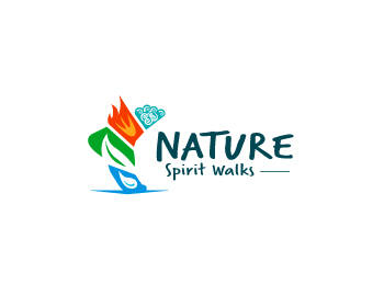 Nature Spirit Walks logo design