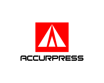 Accurpress International Sales logo design