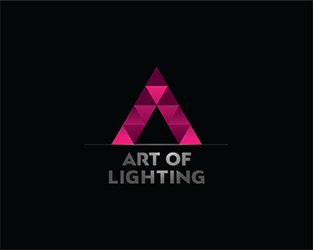 Events logo design for Art of Lighting