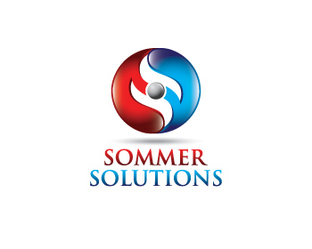 Sommer-Solutions logo design