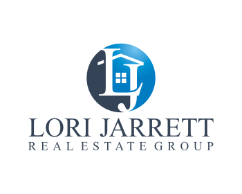 Lori Jarrett Real Estate Group  or Lori Jarrett Group logo design