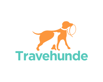 Travehunde logo design