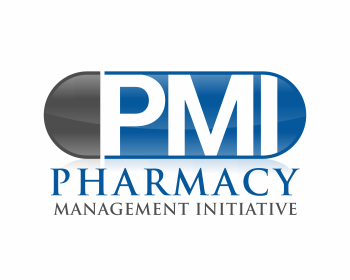 Pharmacy Management Initiative logo design