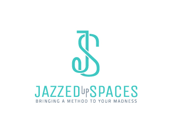 Jazzed Up Spaces, LLC logo design