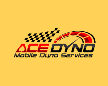 Ace Dyno logo design