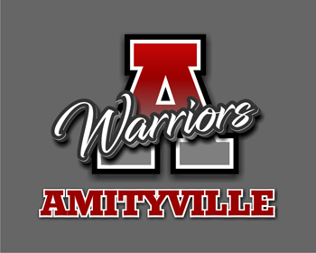Education logo design for Amityville Warriors