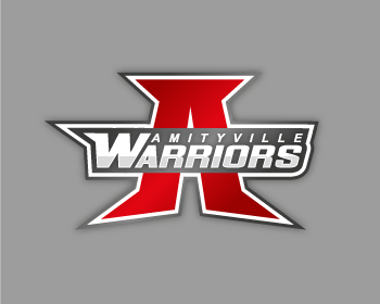 Amityville Warriors logo design