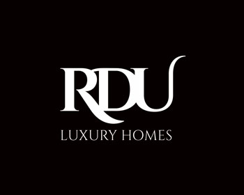 RDU Luxury Homes logo design