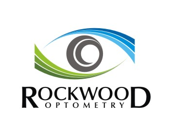 Rockwood Optometry logo design