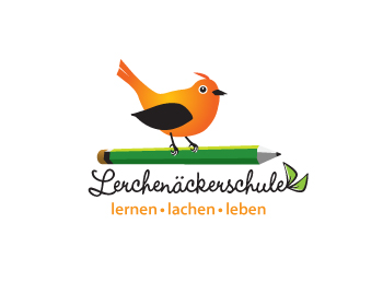 Lerchenäckerschule logo design