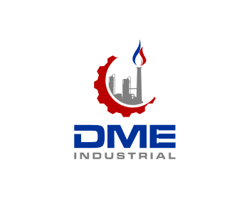 DME Industrial logo design