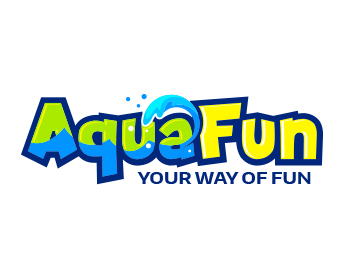 AquaFun logo design