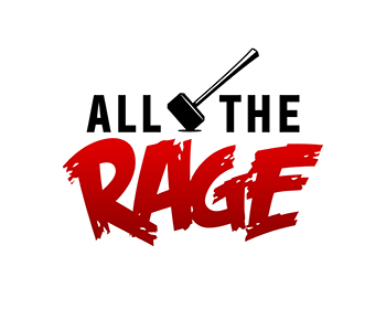 All The Rage logo design