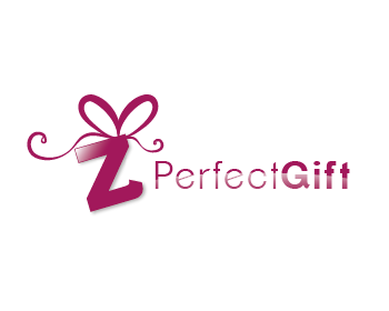 z Perfect Gift logo design