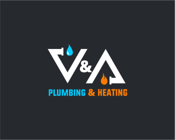 Logo per V & A Plumbing and Heating LTD.