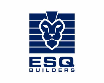 ESQ Builders logo design