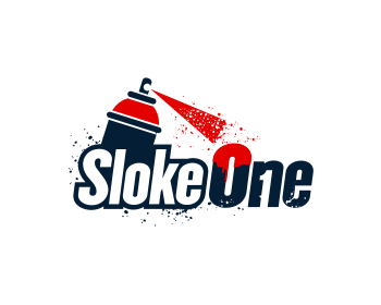 Sloke One logo design