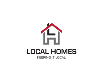 Local Homes logo design