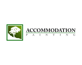 Accommodation Painting Ltd logo design
