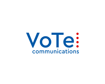 VoTel Communications logo design