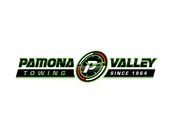 Pamona Valley Towing logo design