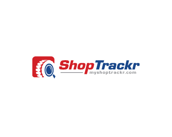 Shop Trackr (myshoptrackr.com) logo design