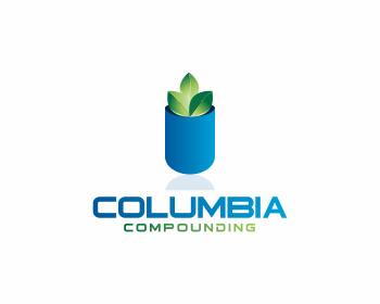 Columbia Compounding logo design