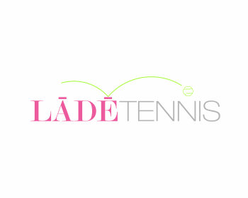 Logo design for LĀDĒ Tennis