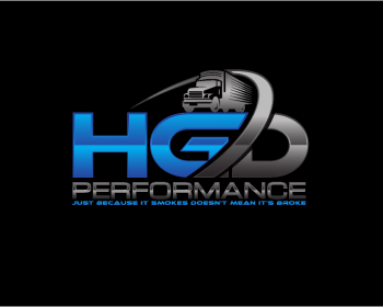 HGD Performance logo design