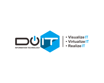 DoIT Information Technology logo design