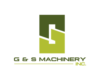 G & S Machinery Inc. logo design