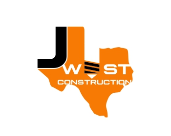 J West Construction logo design