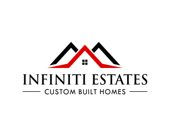Infiniti Estates logo design