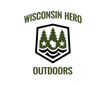 Logo design for Wisconsin Hero Outdoors®
