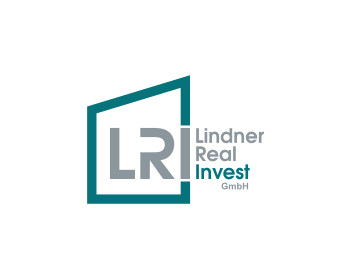 Lindner Real Invest logo design