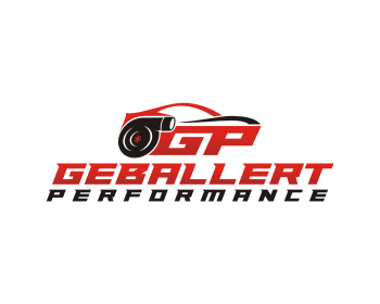 Geballert Performance logo design