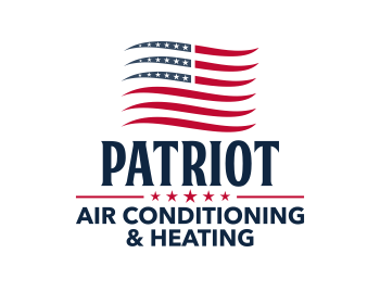 Patriot Air Conditioning & Heating logo design