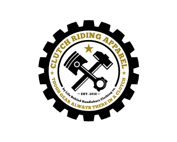 Clutch Riding Gear logo design