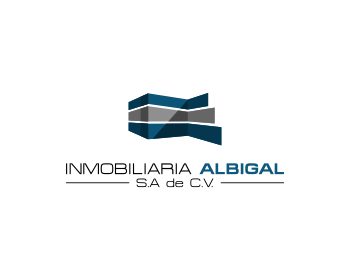 Logo design for Inmobiliaria Albigal S.A de C.V.