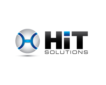 HIT Solutions logo design