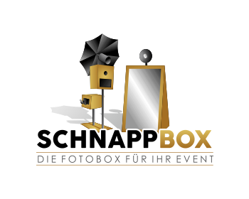 Schnappbox logo design
