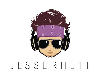 Logo design for Jesse Rhett